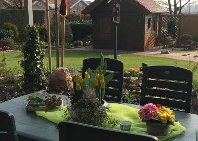 Der Garten Vossmann - nachher