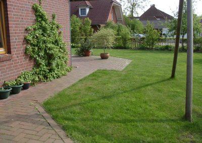 Der Garten Marks - vorher
