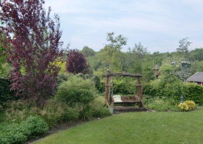 Der Garten Ross - vorher