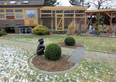 Der Garten Albers - vorher