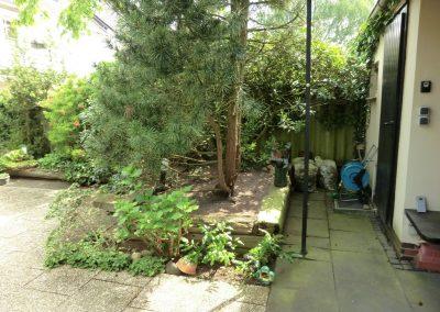 Der Garten Lammel - vorher