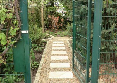 Der Garten Ernst - nachher