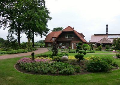 Der Garten Franke - nachher