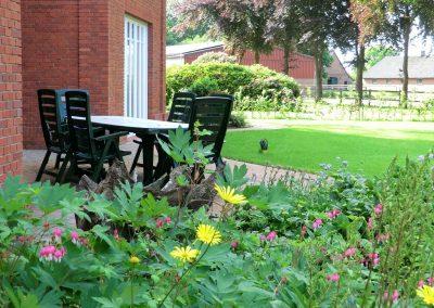 Der Garten Kitzler- nachher