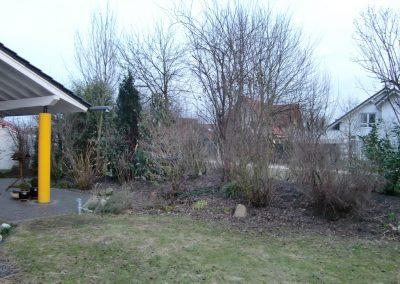 Der Garten Lordick- vorher