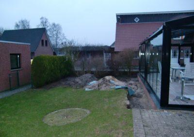 Der Garten Osterhues - vorher