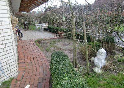 Der Garten Dr. Wessling - vorher