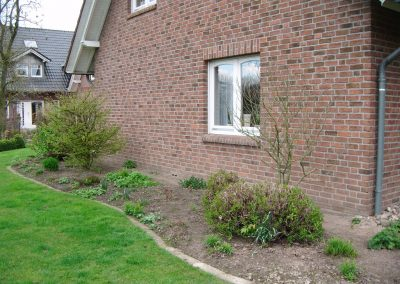 Der Garten Rolwes - vorher