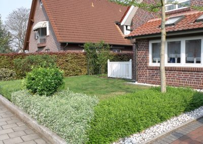 Der Garten Lanfermann - vorher
