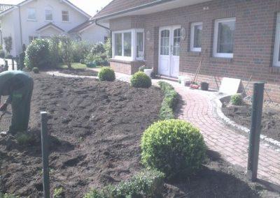 Der Garten Engelmann- nachher