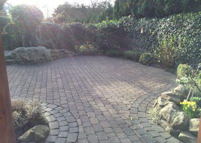 Der Garten Sümpelmann - vorher