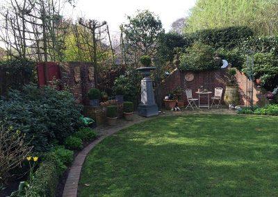 Der Garten Hielscher- vorher