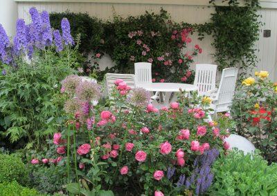 Der Garten Wessmann - nachher