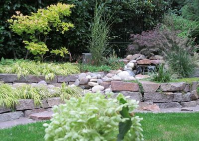 Der Garten Heitkamp - nachher