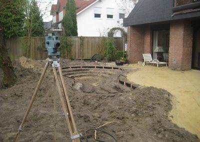 Der Garten Dwertmann - vorher