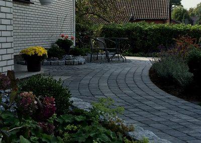 Der Garten Heitmann - nachher