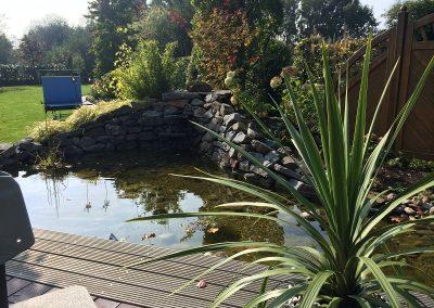Der Garten Meirose - nachher