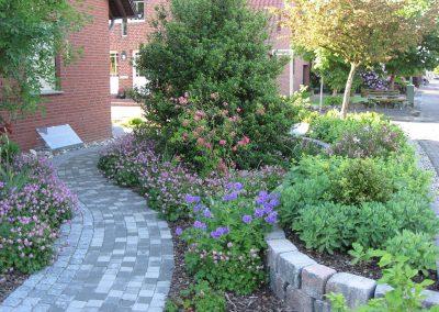 Der Garten Osterhues - nachher