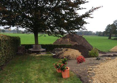 Der Garten Roßkamp - vorher