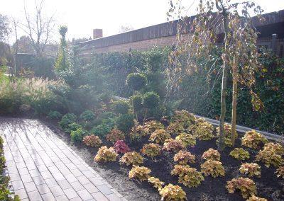 Der Garten Reents - nachher
