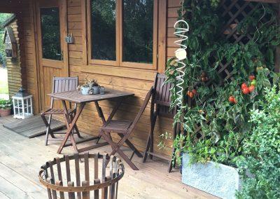 Der Garten Frilling - vorher