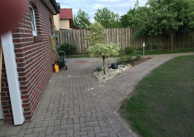 Der Garten Garwels - vorher