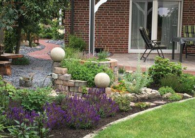 Der Garten Garwels - nachher