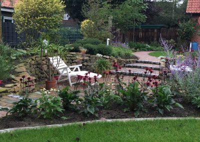 Der Garten Kreienborg - nachher