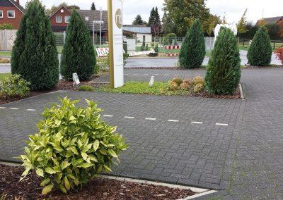 Der Garten Böhme - vorher