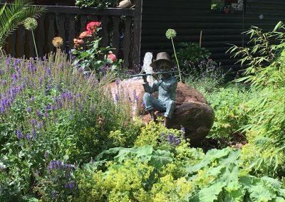 Der Garten Kühling - nachher