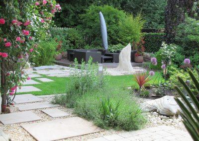 Der Garten von Sofie und Peter Tiedeken aus Friesoythe