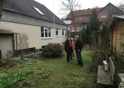Der Garten Grünfeld - vorher