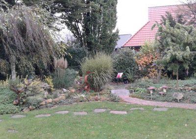 Der Garten Vahrmann - vorher