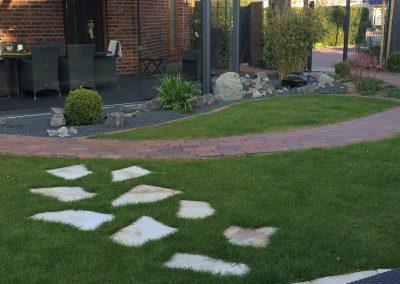 Der Garten Plaspohl - nachher