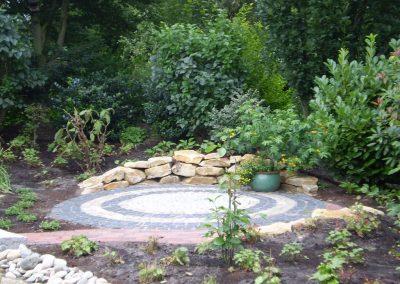 Der Garten Vahrmann - nachher