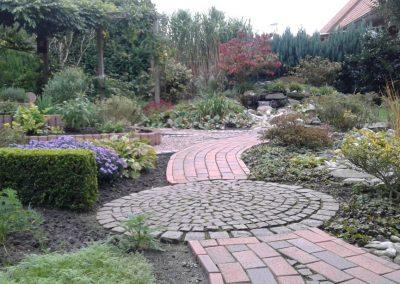Der Garten Buß - nachher
