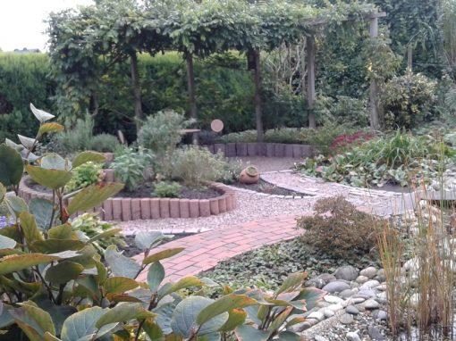 Der Garten von Brigitte und Udo Buß aus Lohne
