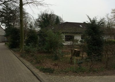 Der Garten Werner/Osterkamp - vorher
