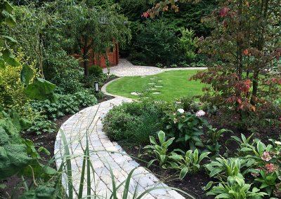 Der Garten Gierenstein - nachher