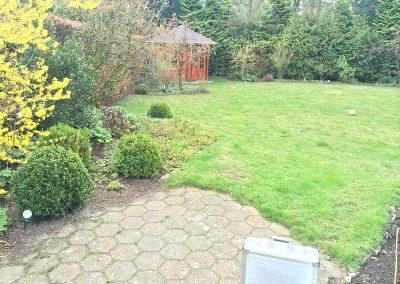 Der Garten Gierenstein - vorher