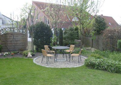 Der Garten Unnerstall - nachher