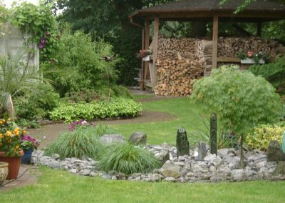 Der Garten Weber - vorher