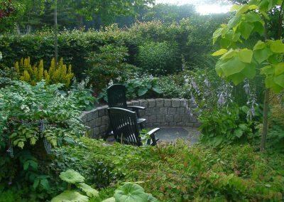 Der Garten Marks - nachher