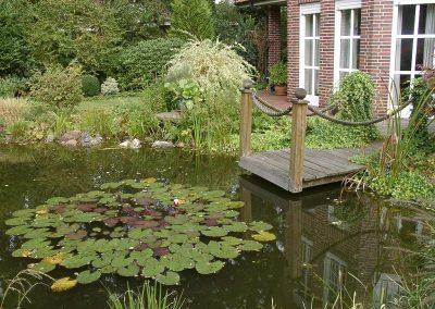 Der Garten Wichmann - vorher