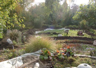 Der Garten Frerker- vorher