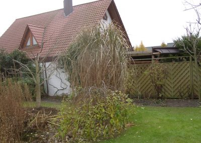 Der Garten Unnerstall - vorher