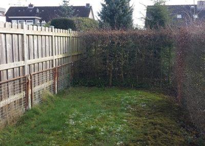 Der Garten Köster - vorher