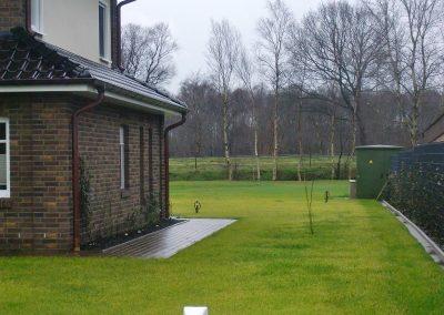 Der Garten Reents - vorher