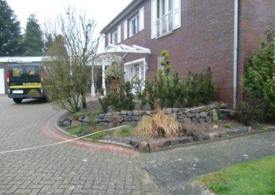 Der Garten Schlichting - vorher