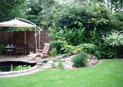 Der Garten Heitkamp - vorher